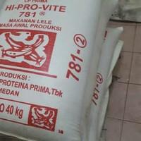 Pakan lele jumbo Hiprovite 781-2 berat 8kg pelet ikan lele diecer