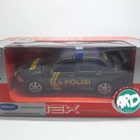 Welly 1:36 Mitsubishi Lancer Evolution VIII - Patroli Polisi