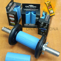 FAT GRIPZ - Fitness/Barbell/Dumbell Rubber Grip - For Bigger Arms!