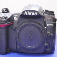 Nikon D7000 Second Hand Body Only Lengkap dengan dos dan Charger