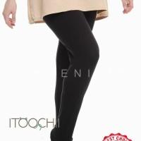 Celana Legging Wudhu Big size fit XXL bahan Adem Stocking Wudhu