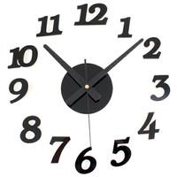 Jam dinding DIY Wall Clock 30-50cm Diameter - ELET00666 9bc9136d18