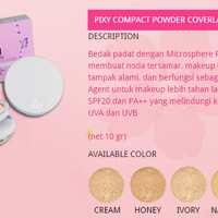 T2105 UV Whitening - Pixy - Compact Powder Cover Last (dozen)