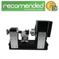 Mesin Bubut Mini Lathe Machine 12.000RPM - Hitam