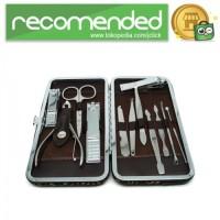 Nail Art Set Manicure Pedicure - 12 PCS - Silver