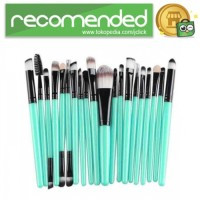 GUJHUI Brush Make Up 20 Set - Hijau Hitam