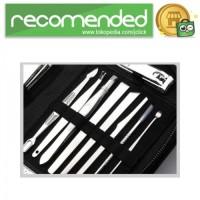 Set Perlengkapan Manicure Pedicure - 15 PCS - Silver