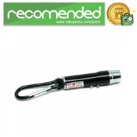 Red Laser Pointer 1mw 650nm   LED Light - Hitam