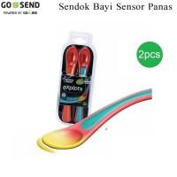 Sendok Bayi Sensor Panas / 2pc heat sensing spoons tommee tippee