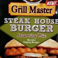 Jual Grill Master   steak house burger   bumbu daging burger   20 gram   Murah