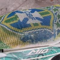 Sarung Jok Motor Pro-cool Edisi Piala Dunia Brazil  /  Italia
