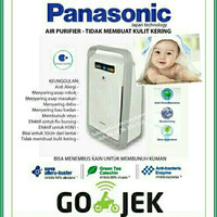 Panasonic Air Purifier FPXJ30A Bayi Sehat GOJEK Anti Virus Asap Asli