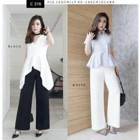 Celana Panjang Lebar Wanita / Celana Wide Leg (C378)