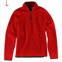 Sweater Pria dan Wanita Iner Polar half zipper jacket