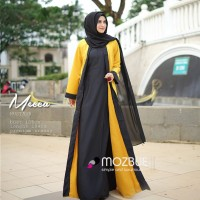 GAMIS CASUAL SIMPLE  MECCA Dress by Mozbue ORIGINAL BRANDED
