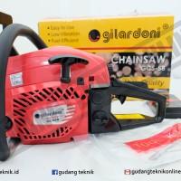 Mesin Gergaji Kayu Chainsaw GILARDONI GCS 58