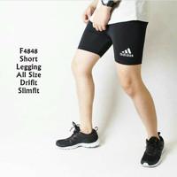 Celana Legging Pendek Pria wanita Gym fitnes Sport Lari renang senam
