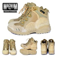 Sepatu Magnum 6 Inch Boots Import 566 Cokelat Kulit/ Gunung/ Taktis