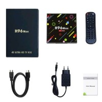 Android TV Box H96 Max RK3328 Quad Core 4GB 64GB By.wah acc