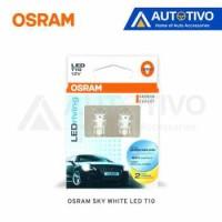LAMPU Senja Mobil Led Osram Sky White T10 12 Volt