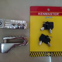 Kunci Gembok Cakram Motor/ Pengaman Anti Maling ( Harga Grosir)