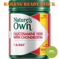 Harga ready stock nature s own glucosamine 1500 with condroitin 180   Pembandingharga.com