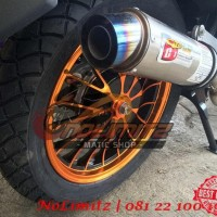 Ban Motor Tubeless Tahu Michelin M45 110/80 - 14 Vario Beat Scoopy