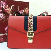 6484d9e5fb1d88 PERFECT Gucci Sylvie Mirror Quality / Tas Pesta / Sling Bag /Selempang