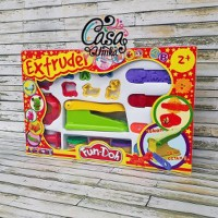 Fun Doh Extruder Tool Set - Lilin Mainan Anak FunDoh PlayDoh P kut