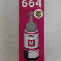 TINTA EPSON T6643 - MAGENTA TERBARU