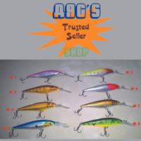 Umpan Pancing Laut Minnow 11cm 10.5g Hard Bait Fishing lures 6# hook