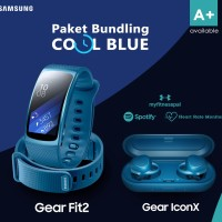 Samsung Gear Fit 2 + Gear IconX (1 Paket)