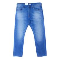 Men EASTLORE BLUE WASH STRETCH Jeans BIGSIZE - Celana Denim Jumbo SIZE