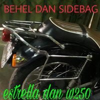 SideBag + behel kawasaki W250, Estrella (saddle bag)