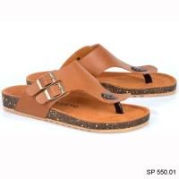 Harga sp 550 01 sandal resmi sandal lebaran pria branded spiccato | Hargalu.com
