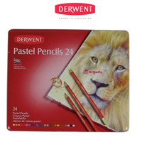 Derwent Pastel Pencil 24/Derwent Pastel Pencil Tin 24 /Pensil Derwent