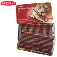 Derwent Pastel Pencil 72/Derwent Pastel Pencil Tin 72 /Pensil Derwent