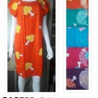 Daster batik abg, dress midi bali rayon, grosir baju tidur wanita