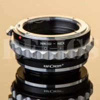 K&F Adapter Nikon Lens To Sony Mirrorless