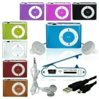 Jual Mp3 Besi Music Player Mp3 Jepit Stainles Media Player Simple