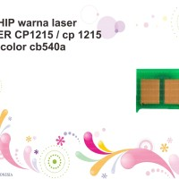 CHIP warna laser PRINTER CP1215 / cp 1215 color cb540a