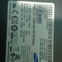 SSD samsung Sata III 120gb Health 80%an