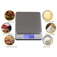 IDEALIFE - Pocket Scale - Timbangan Saku (IL-500P) (500/0.01g) New