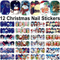 Nail Art Stiker Chrismast Decals