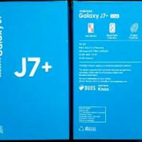 DUS/BOX/KOTAK HP ANDROID SAMSUNG J7+ PLUS BUKAN OPPO XIAOMI VIVO SONY