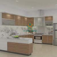 Harga Kitchen Set Mewah Terupdate Ideharga