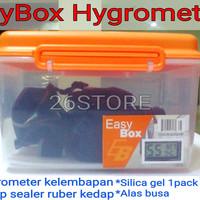 Drybox Camera Dslr Prosummer Mirorless Digital dengan Hygrometer