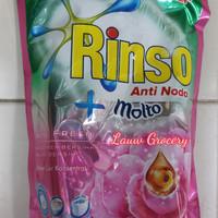 Jual Rinso Cair Anti Noda + Molto Rose Fresh 800ml/Sabun Cuci Baju/Rinso Murah