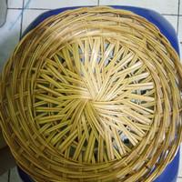 Ingke/Piring Rotan/Bambu/Lontar/Anyaman