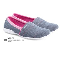 Sepatu Sneakers / Kets Kasual Wanita Original By Everflow BO VSD 05
